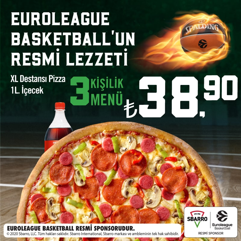 Sbarro® Euroleague Menü